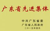 广东省先进集体称号